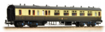 34-078 Bachmann Branchline 60ft. Collett 1st/3rd Brake Composite GWR Chocolate & Cream